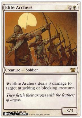 Elite Archers, 8th Edition, Magic the Gathering