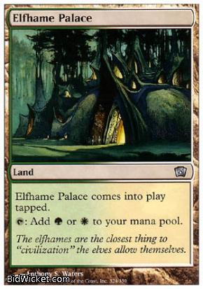 Elfhame Palace, 8th Edition, Magic the Gathering