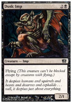 Dusk Imp, 8th Edition, Magic the Gathering