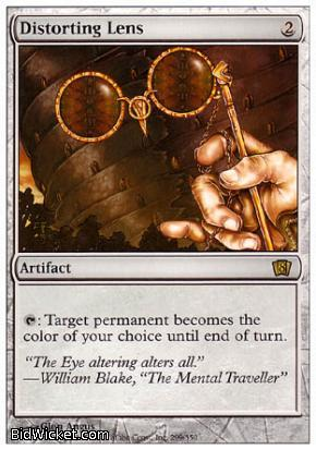 Distorting Lens, 8th Edition, Magic the Gathering