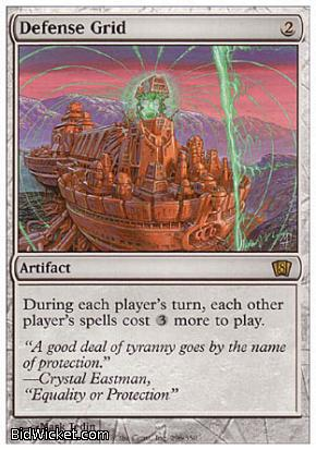 Defense Grid, 8th Edition, Magic the Gathering