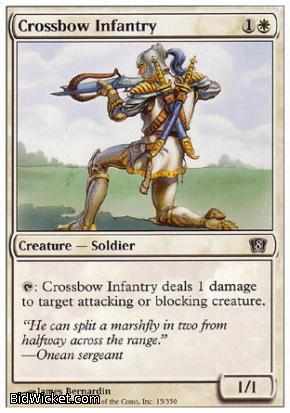 Crossbow Infantry, 8th Edition, Magic the Gathering