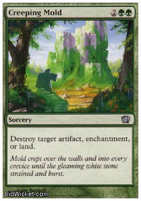 Creeping Mold, 8th Edition, Magic the Gathering