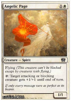Angelic Page, 8th Edition, Magic the Gathering