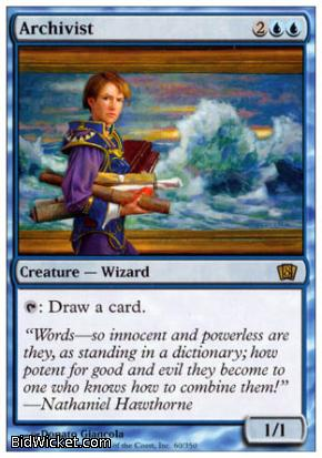 Archivist, 8th Edition, Magic the Gathering