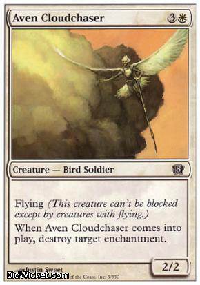 Aven Cloudchaser, 8th Edition, Magic the Gathering