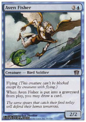 Aven Fisher, 8th Edition, Magic the Gathering