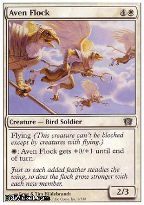 Aven Flock, 8th Edition, Magic the Gathering