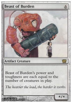 Beast of Burden, 8th Edition, Magic the Gathering