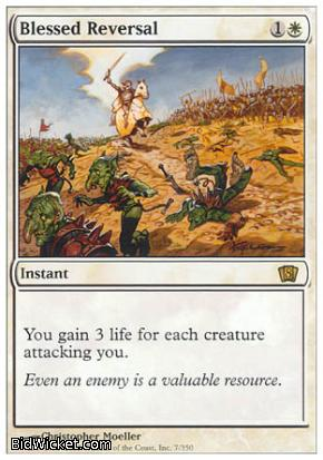 Blessed Reversal, 8th Edition, Magic the Gathering