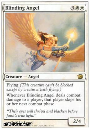 Blinding Angel, 8th Edition, Magic the Gathering