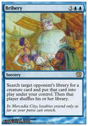 Bribery, 8th Edition, Magic the Gathering