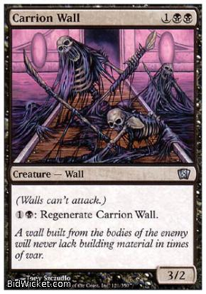 Carrion Wall, 8th Edition, Magic the Gathering