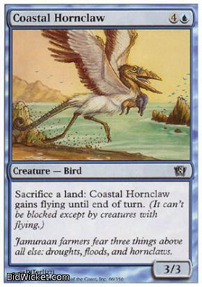 Coastal Hornclaw, 8th Edition, Magic the Gathering