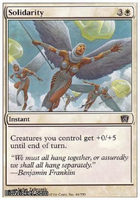 Solidarity, 8th Edition, Magic the Gathering