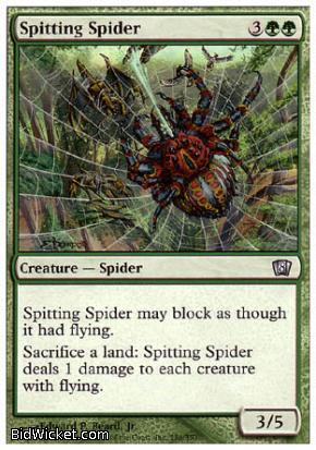 Spitting Spider, 8th Edition, Magic the Gathering