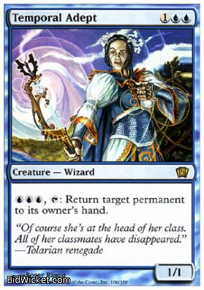 Temporal Adept, 8th Edition, Magic the Gathering