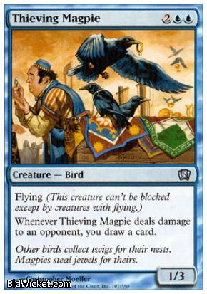 Thieving Magpie, 8th Edition, Magic the Gathering