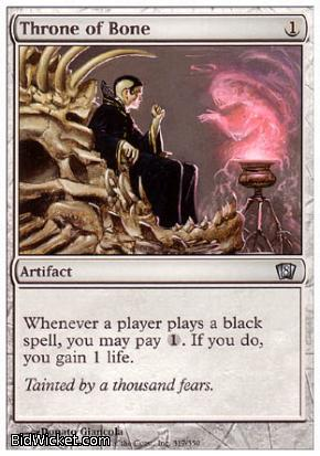 Throne of Bone, 8th Edition, Magic the Gathering