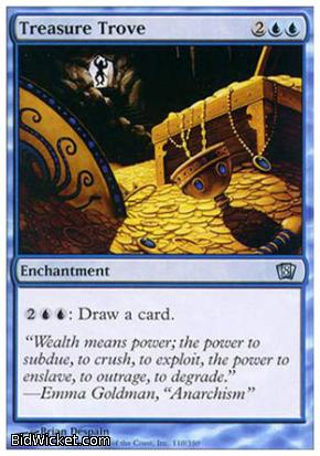 Treasure Trove, 8th Edition, Magic the Gathering