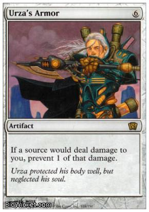 Urza's Armor, 8th Edition, Magic the Gathering