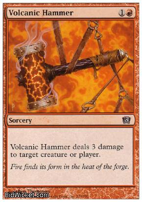 Volcanic Hammer, 8th Edition, Magic the Gathering