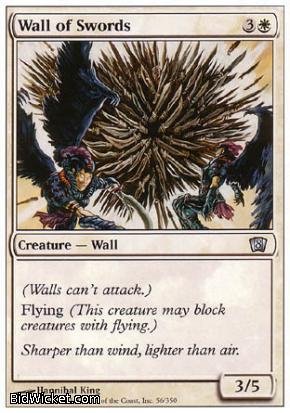 Wall of Swords, 8th Edition, Magic the Gathering
