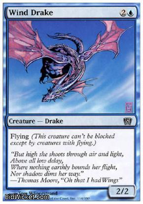 Wind Drake, 8th Edition, Magic the Gathering