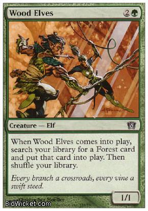 Wood Elves, 8th Edition, Magic the Gathering