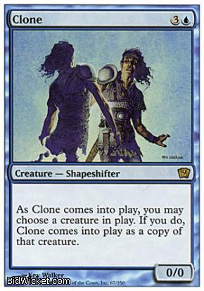 Clone, 9th Edition, Magic the Gathering