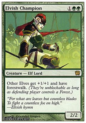 Elvish Champion, 9th Edition, Magic the Gathering