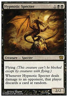 Hypnotic Specter, 9th Edition, Magic the Gathering