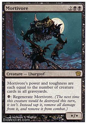 Mortivore, 9th Edition, Magic the Gathering