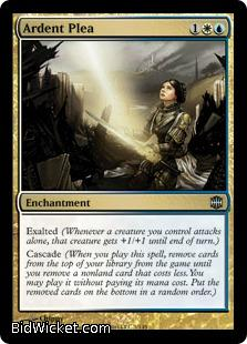 Ardent Plea, Alara Reborn, Magic the Gathering