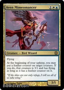 Aven Mimeomancer, Alara Reborn, Magic the Gathering