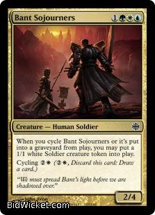 Bant Sojourners, Alara Reborn, Magic the Gathering