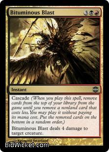 Bituminous Blast, Alara Reborn, Magic the Gathering