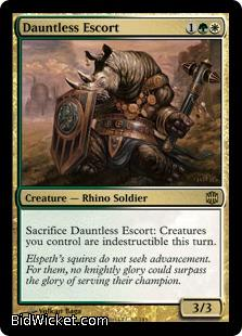 Dauntless Escort, Alara Reborn, Magic the Gathering