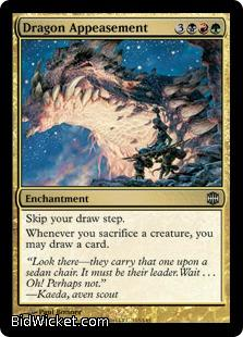 Dragon Appeasement, Alara Reborn, Magic the Gathering