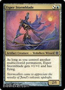 Esper Stormblade, Alara Reborn, Magic the Gathering
