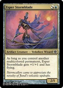 Esper Stormblade, Alara Reborn, Magic the Gathering