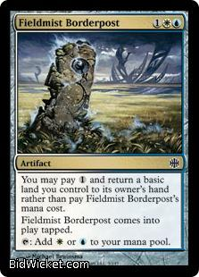 Fieldmist Borderpost, Alara Reborn, Magic the Gathering