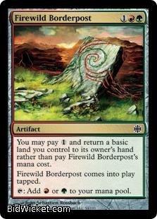 Firewild Borderpost, Alara Reborn, Magic the Gathering