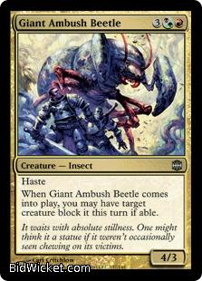 Giant Ambush Beetle, Alara Reborn, Magic the Gathering