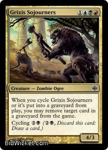 Grixis Sojourners, Alara Reborn, Magic the Gathering