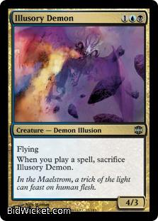 Illusory Demon, Alara Reborn, Magic the Gathering