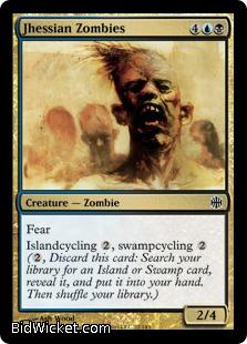 Jhessian Zombies, Alara Reborn, Magic the Gathering