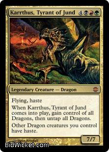 Karrthus, Tyrant of Jund, Alara Reborn, Magic the Gathering