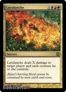 Lavalanche, Alara Reborn, Magic the Gathering