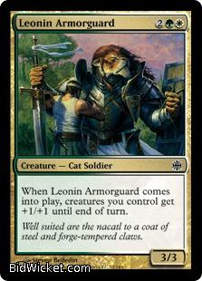 Leonin Armorguard, Alara Reborn, Magic the Gathering